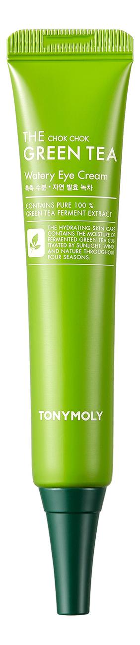 Увлажняющий крем для кожи вокруг глаз с экстрактом зеленого чая The Chok Chok Green Tea Watery Eye Cream 30мл недорого