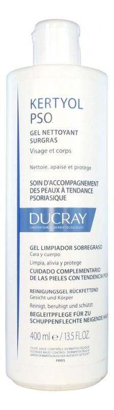 Купить Питательный очищающий гель для лица и тела Kertyol P.S.O. Gel Nettoyant Surgras: Гель 400мл, Ducray