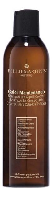 Шампунь для окрашенных волос Colour Maintenance Shampoo: Шампунь 250мл шампунь для мелированных волос bio treatment colour shampoo шампунь 250мл