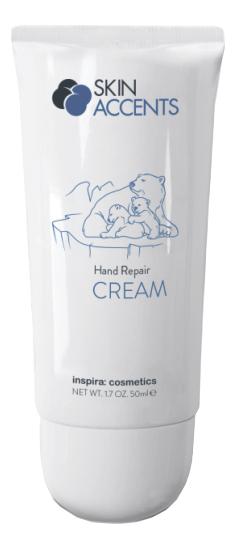Купить Защитный и восстанавливающий крем для рук Skin Accents Hand Repair Cream 50мл, Inspira: cosmetics