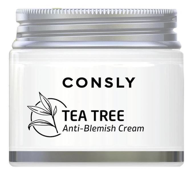 Крем для лица с экстрактом чайного дерева Tea Tree Anti-Blemish Cream 70мл