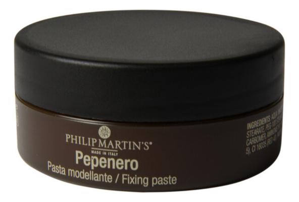 Моделирующая паста для волос с матовым эффектом Pepenero Fixing Paste 75мл salt паста для волос с матовым эффектом alpha marine 100мл