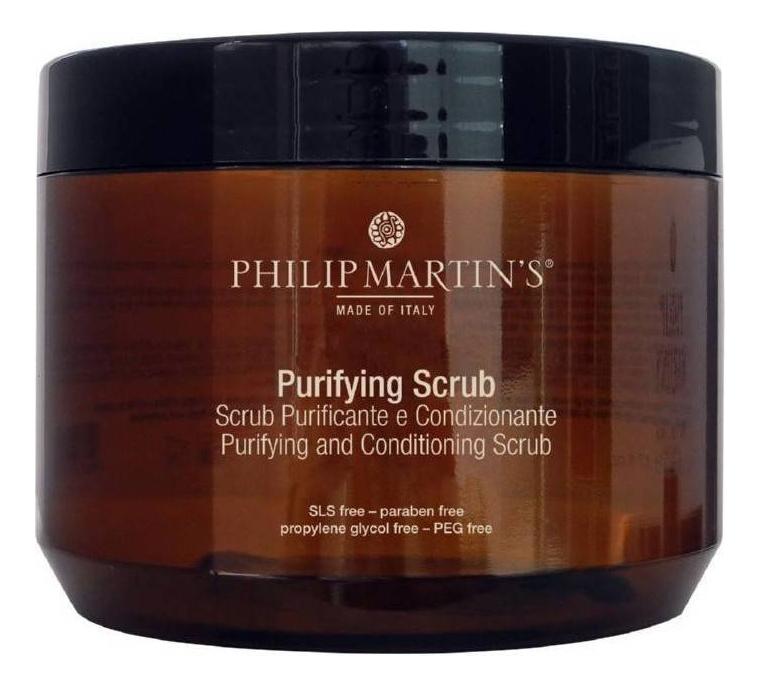 Купить Очищающий скраб для кожи головы Purifying Scrub 500мл, PHILIP MARTIN`S