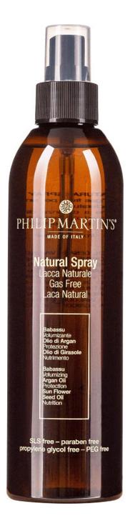 Купить Спрей для фиксации без газа Natural Spray: Спрей 250мл, PHILIP MARTIN`S