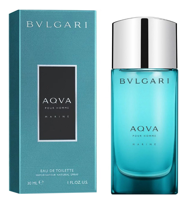 Купить Aqva pour homme Marine: туалетная вода 30мл, Bvlgari