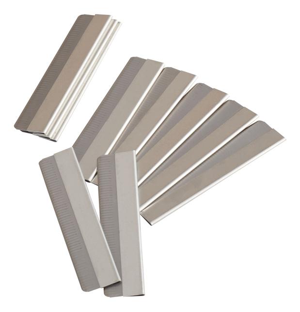 Купить Сменные лезвия для бритвы прямые 10шт 03-12B, Dewal