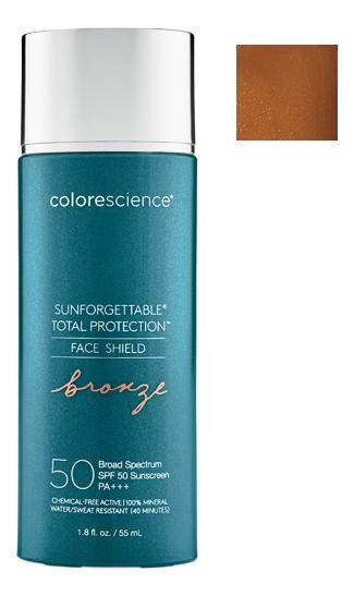 Купить Солнцезащитная эмульсия для лица Тотальная защита Sunforgettable Total Protection Face Shield SPF50 PA+++ 55мл: Бронзовый, Colorescience