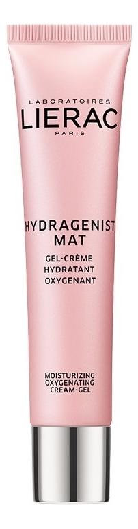 Купить Гель-крем кислородный для лица Hydragenist Mat Gel-Cream Hydratant Oxygenant: Гель-крем 30мл, Lierac