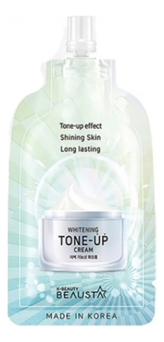 Купить Освежающий крем для лица Whitening Tone-Up Cream 15мл, BEAUSTA
