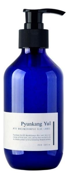Купить Шампунь и гель для душа с экстрактом жимолости ATO Wash & Shampoo Blue Label 290мл, Шампунь и гель для душа с экстрактом жимолости ATO Wash & Shampoo Blue Label 290мл, Pyunkang Yul