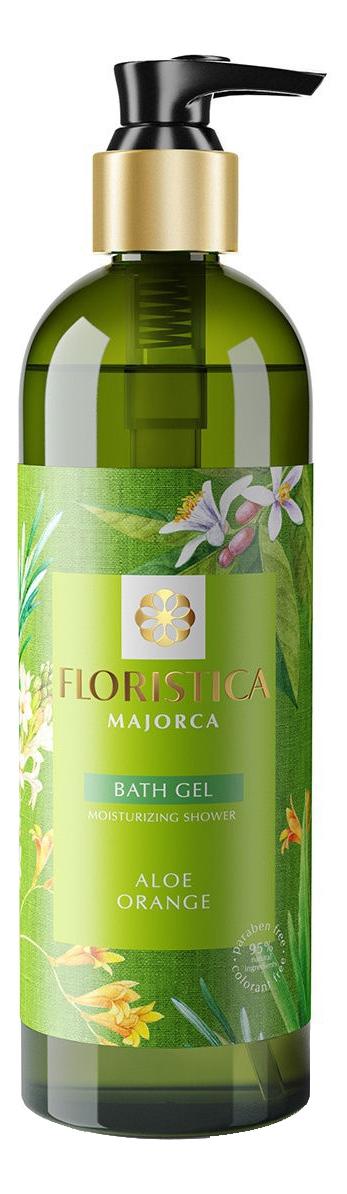 Купить Гель для душа Majorca Moisturizing Shower Bath Gel Aloe Orange 345мл, FLORISTICA