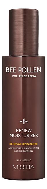 Фото - Питательная эмульсия для лица на основе пчелиной пыльцы Bee Pollen Renew Moisturizer 130мл регенерирующий тоник для лица super aqua cell renew snail skin treatment 130мл