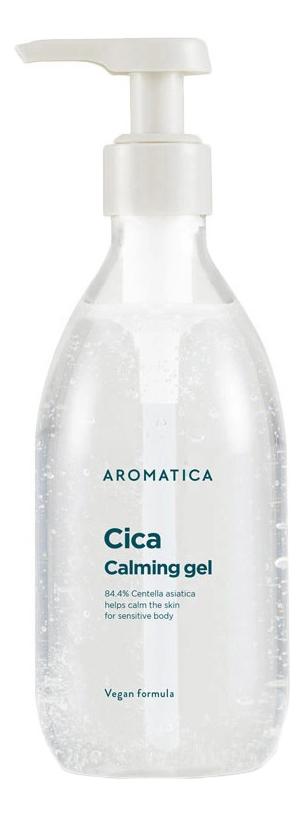Купить Успокаивающий гель для лица и тела с экстрактом центеллы азиатской Cica Calming Gel: Гель 300мл, AROMATICA