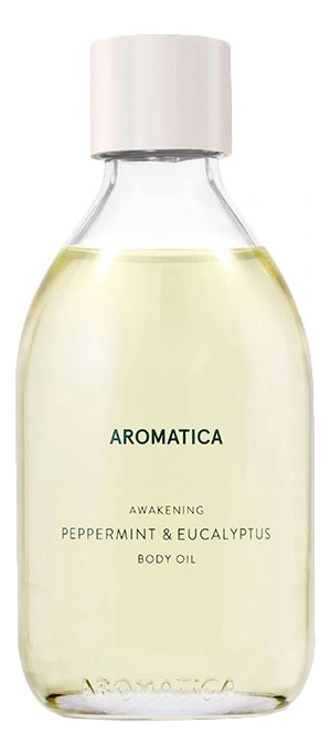 Купить Масло для тела Awakening Body Oil Peppermint & Eucalyptus 100мл (мята и эвкалипт), Масло для тела Awakening Body Oil Peppermint & Eucalyptus 100мл (мята и эвкалипт), AROMATICA