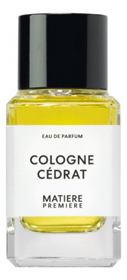 Cologne Cedrat: парфюмерная вода 100мл недорого