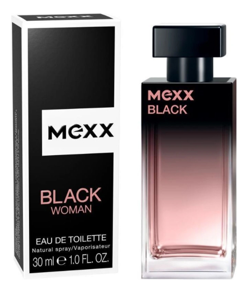 Mexx Black Woman: туалетная вода 30мл