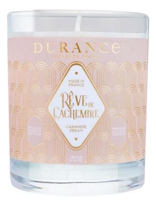 Купить Ароматическая свеча Perfumed Natural Candle Cashmere Dream (облака кашемира): Свеча 180г, Durance
