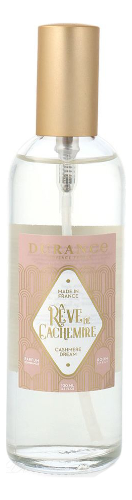 Купить Ароматический спрей для дома Home Perfume Cashmere Dream 100мл (облака кашемира), Durance