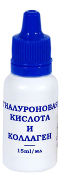 Гель для лица Гиалуроновая кислота и коллаген L'Or Hyaluronic Acid & Collagen 15мл