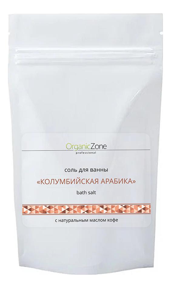 Соль для ванн Колумбийская арабика Bath Salt: Соль 1000мл соль для ванн остров свежести bath salt соль 1000мл