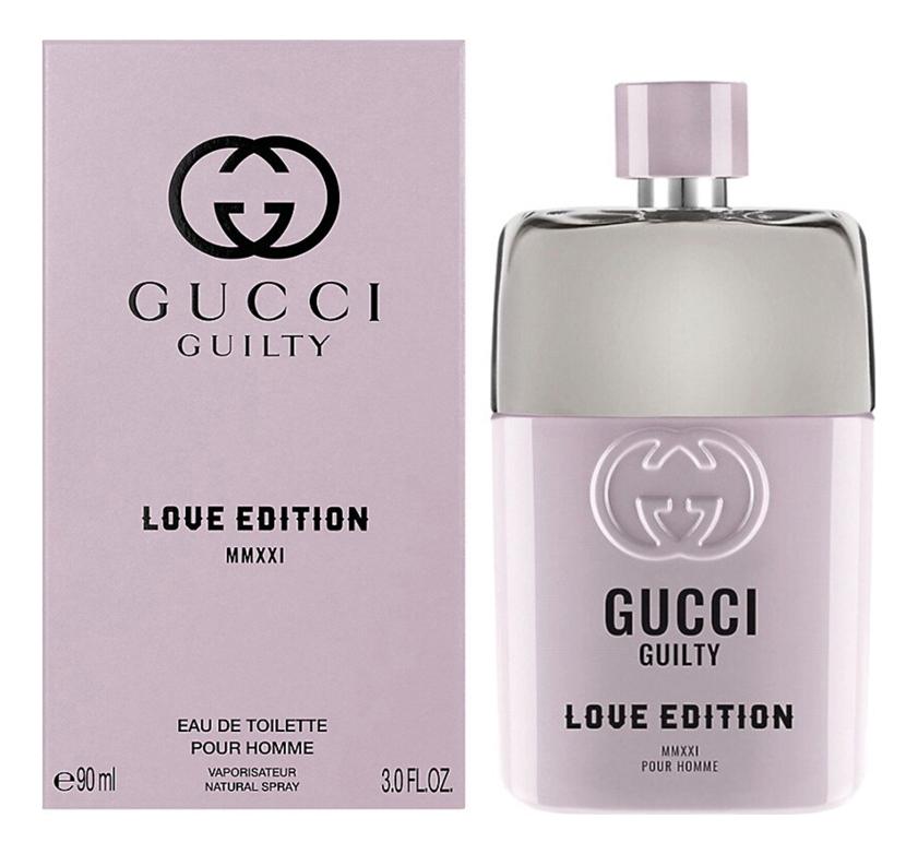 Guilty Love Edition Pour Homme MMXXI: туалетная вода 90мл guilty intense pour homme туалетная вода 90мл