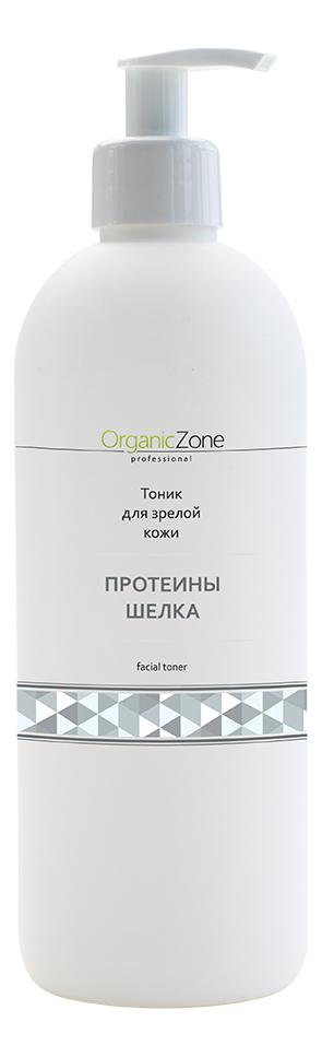 Купить Тоник для лица Протеины шелка Facial Toner: Тоник 500мл, OrganicZone