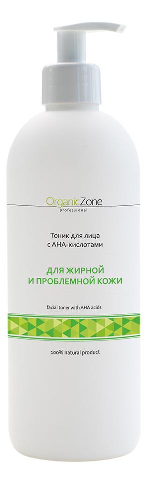 Фото - Тоник для жирной и проблемной кожи лица Facial Toner With AHA-Acids: Тоник 500мл тоник для жирной кожи лица facial tonic тоник 50мл