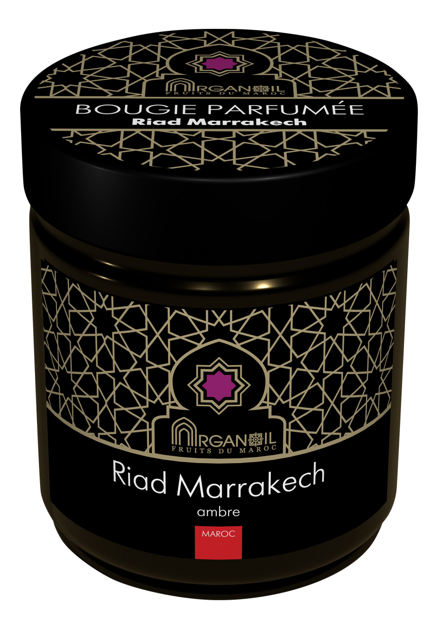 Купить Ароматическая свеча Риад Марракеш Bougie Parfumee Riad Marrakech (амбра): Свеча 55г, ARGANOIL