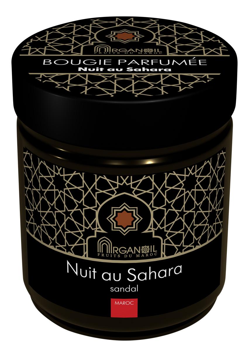 Купить Ароматическая свеча Ночь в Сахаре Bougie Parfumee Nuit Au Sahara (сандаловое дерево): Свеча 55г, ARGANOIL