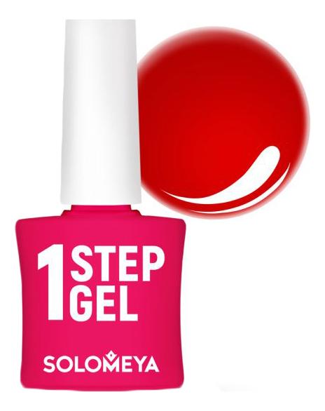 Купить Однофазный гель-лак для ногтей 1 Step Gel 5мл: 19 Pepper, Solomeya
