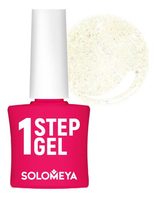 Купить Однофазный гель-лак для ногтей 1 Step Gel 5мл: 45 Opal, Solomeya