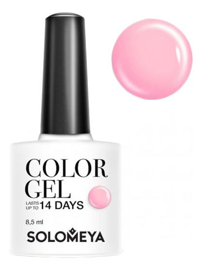 Купить Гель-лак для ногтей Color Gel 14 Days 8, 5мл: 15 Raspberry, Solomeya