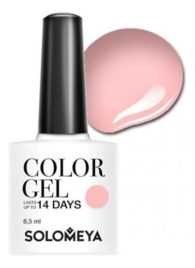 Купить Гель-лак для ногтей Color Gel 14 Days 8, 5мл: 106 Tea Rose, Solomeya