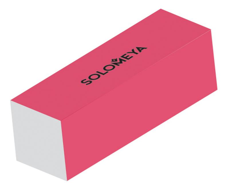Блок-шлифовщик для ногтей Sanding Block: Pink