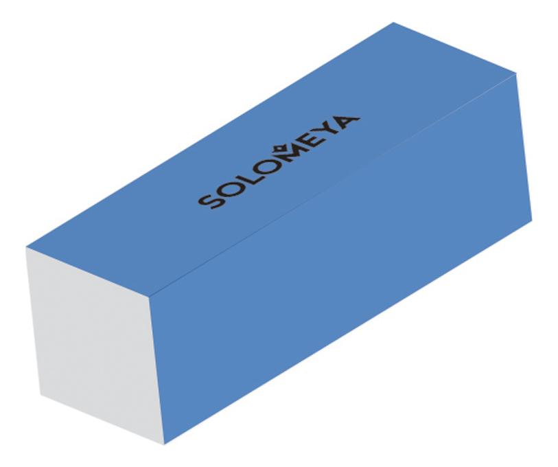 Блок-шлифовщик для ногтей Sanding Block: Blue