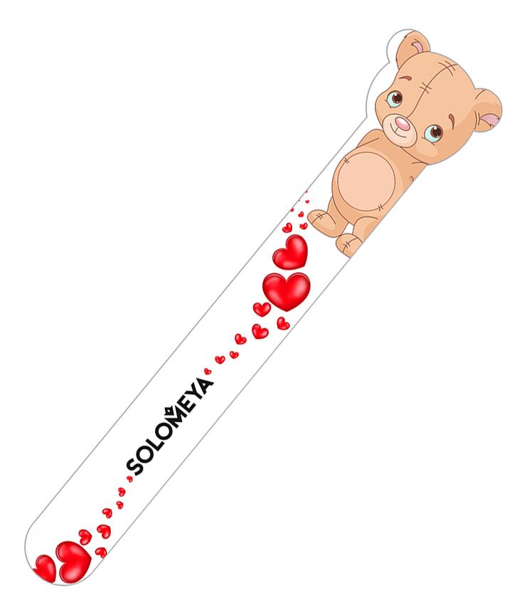 Купить Пилка для натуральных и искусственных ногтей Плюшевый мишка 180/220, Solomeya
