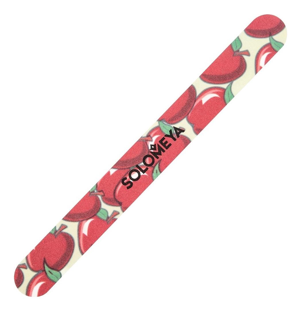 Пилка для придания идеальной формы натуральным и искусственным ногтям Райские яблочки 180/220, Solomeya  - Купить
