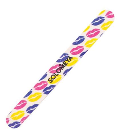 Купить Пилка для придания идеальной формы натуральным и искусственным ногтям Поцелуй 180/220, Solomeya