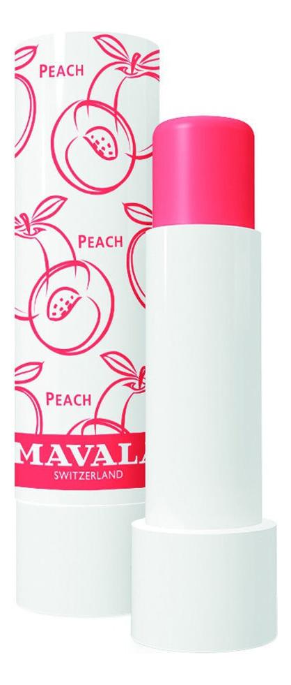 Фото - Бальзам для губ Lip Balm 4,5г: Peach mavala бальзам lip balm candyh для губ тинт леденец 4 5г