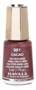 Лак для ногтей Nail Color Cream 5мл: 981 Cacao недорого