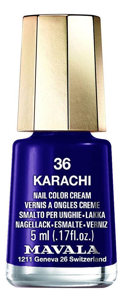 Купить Лак для ногтей Nail Color Cream 5мл: 36 Karachi, MAVALA