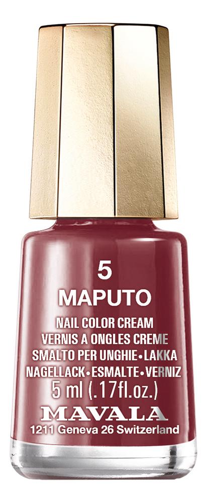 Купить Лак для ногтей Nail Color Cream 5мл: 5 Maputo, MAVALA