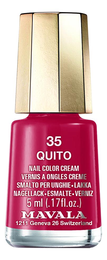 Фото - Лак для ногтей Nail Color Cream 5мл: 35 Quito лак для ногтей nail color cream 5мл 312 poetic rose