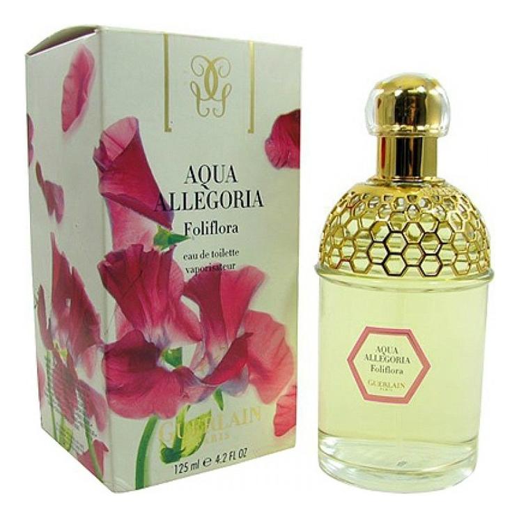 Aqua Allegoria Foliflora: туалетная вода 125мл guerlain aqua allegoria rosa blanca