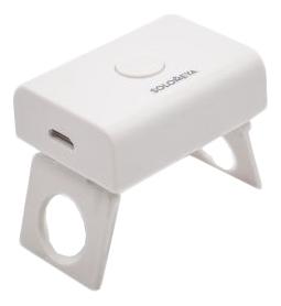 Купить Компактная LED-лампа для полимеризации гель-лаков: Белая, Solomeya