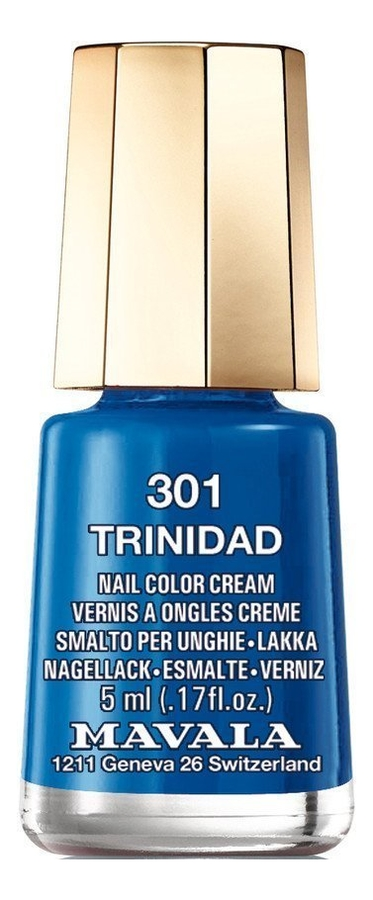 Купить Лак для ногтей Nail Color Cream 5мл: 301 Trinidad, MAVALA