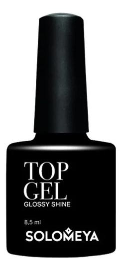 Купить Верхнее гелевое покрытие для ногтей Top Gel Glossy Shine 8, 5мл, Solomeya