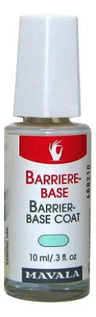 Купить Защитное покрытие для слабых и хрупких ногтей Barrier-Base Coat: Покрытие 10мл, MAVALA