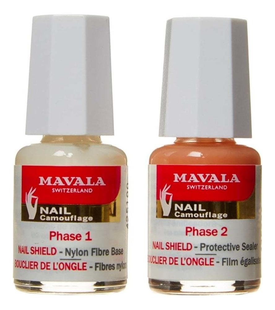 Купить Защитное средство для ногтей Nail Shield: Средство 2*5мл, MAVALA