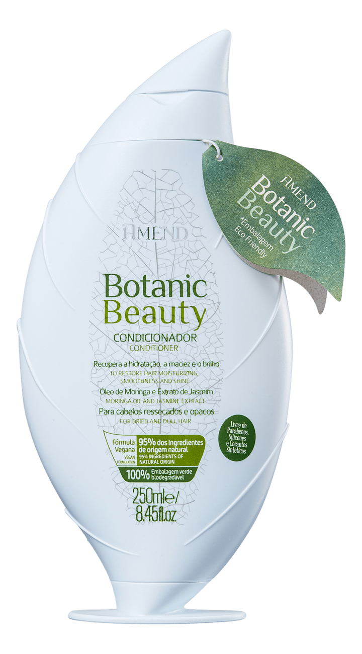 Купить Кондиционер для волос с экстрактом жасмина и маслом моринги Botanic Beauty Conditioner 250мл, Amend